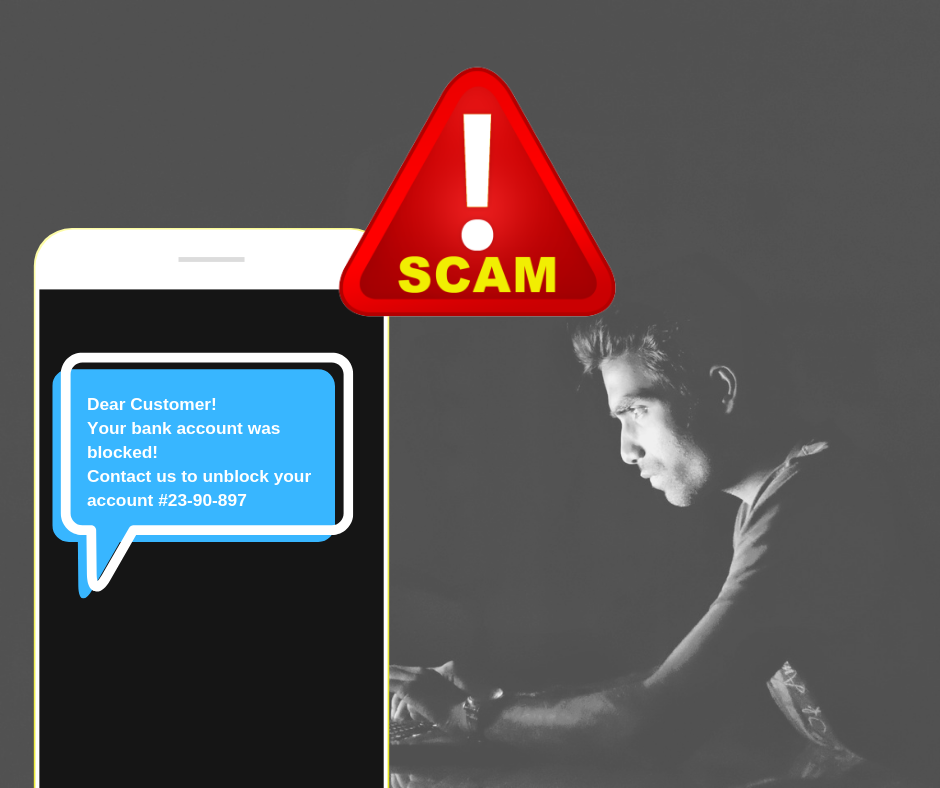 SMS examples of scam 1