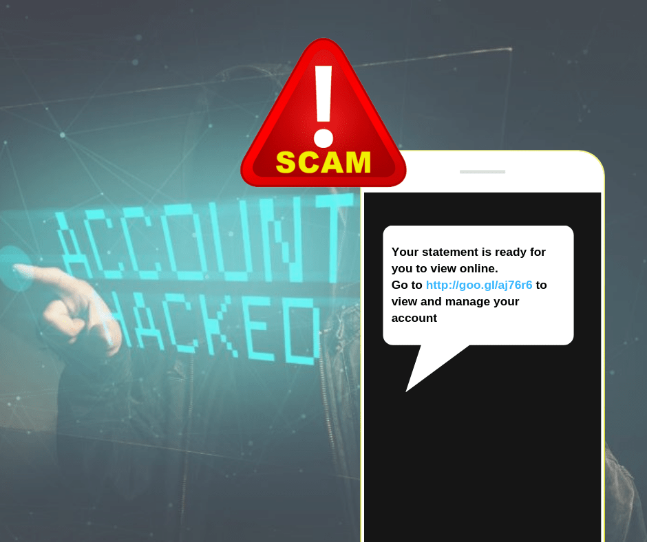 SMS examples of scam 3