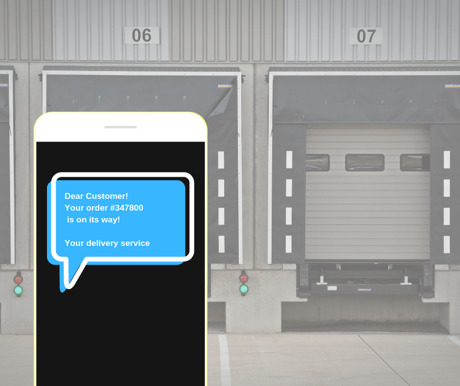 SMS for Delivery service 1