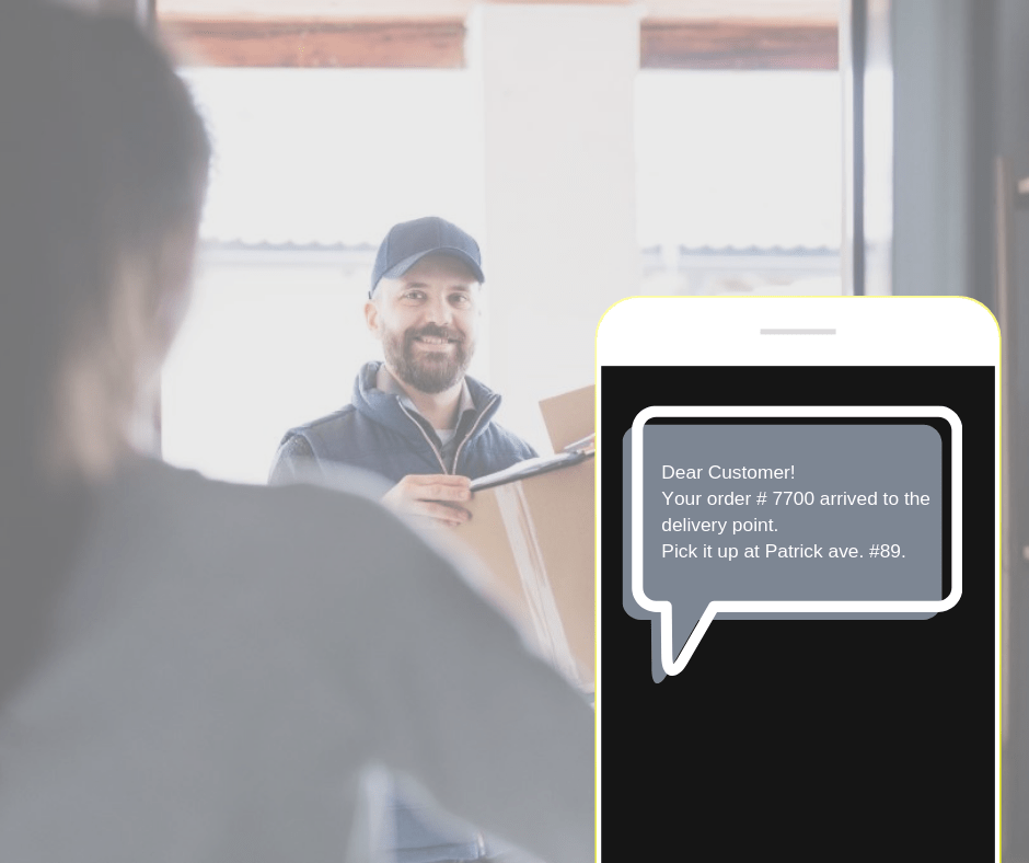 SMS for Delivery service 4