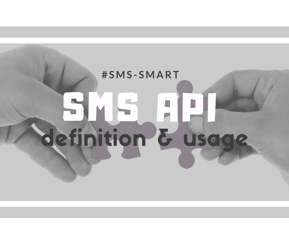 What is SMS API